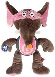 <b>Игрушка</b> для <b>собак GiGwi Agent GiGwi</b> Слон с теннисным мячом ...