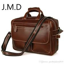 <b>J.M.D</b> LOW Price <b>Rare</b> Genuine <b>Cow</b> Leather Men'S Briefcase ...