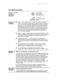 doc cv format in word cv template collection  full cv in word format cv format in word