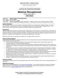 Front Desk Resume Sample   Job and Resume Template Resume Target