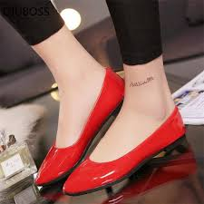 <b>QIUBOSS Summer</b> style <b>Women</b> Ballet Flats Round Toe Slip on ...