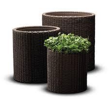 Комплект подвесных <b>кашпо Cylinder Planters</b> Set - Решения и ...