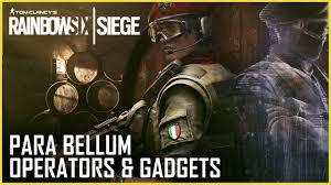 Rainbow Six Siege: <b>Para Bellum</b> Operators Gameplay and Gadget ...