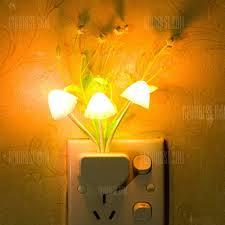 Novelty <b>Night</b> Light Induction Dream <b>Mushroom Fungus LED</b> Lamp ...