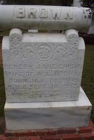 Brown, Fereby Jane (Chism), Jan 7, 1842 - Sep 18, 1912, Pamela Hamrick, picture by John Copham - browndfereby