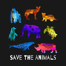 Save The <b>Endangered Animals Wall Art</b> and More at TeePublic ...