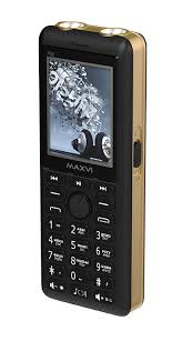 Мобильный <b>телефон MAXVI P20</b> Black-gold