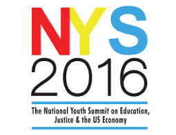 national youth summit on justice  education and the us economy    logo