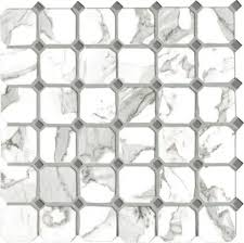 <b>Мозаика керамическая</b> G20404 CALACATTA VI.OTTAGONA (5х5 ...
