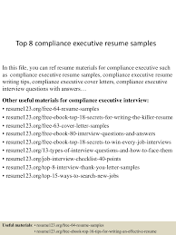 topcomplianceexecutiveresumesamples lva app thumbnail jpg cb