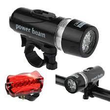 (New!)New <b>5 LED Bicycle</b> Lamp Set <b>Front</b> Rear <b>Bike</b> Lights | Shopee ...