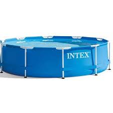Каталог <b>Каркасный бассейн INTEX</b> 28200 Metal Frame 305x76 см ...
