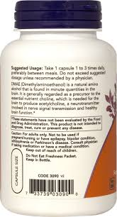 <b>DMAE 250 mg 100</b> Vegi Caps | Brain Health Supplements| Puritan's ...
