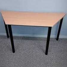 trapezium tables cheap office tables