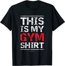 This Is My Gym Shirt - Funny Workout Fitness Shirts ... - Amazon.com