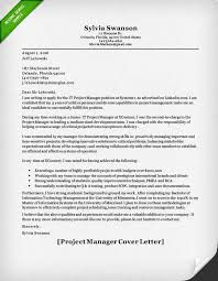 product manager and project manager cover letter samples   resume    project manager cover letter sample