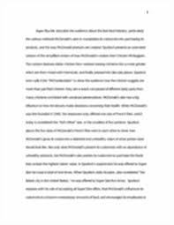 final essay mcdonalds ariana fil words mcdonalds serving image of page 3