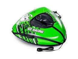Тюбинг Машинка Best Racer 110 см <b>Green</b> - НХМТ