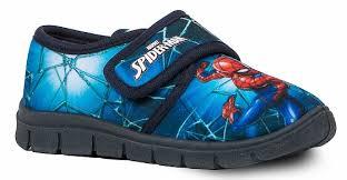 <b>Туфли комнатные для мальчика</b> SPIDER-MAN, синие - купить в ...