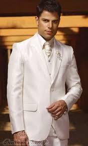 <b>White wedding suit</b> for <b>men</b>