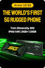 Thermal Imaging Rugged Smartphone <b>Ulefone Armor 9</b> with 64MP ...