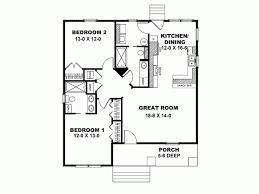 Eplans Craftsman House Plan   Low Cost Craftsman Cottage      Level