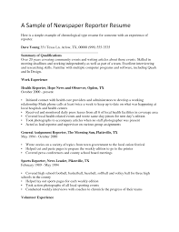 lance reporter and digital journalist resume sample eager world effective resume sample for newspaper reporter job position a part of under professional resumes