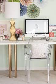 leggy gold desk chic ikea micke desk white