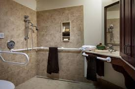 rooms large living rooms and ample social spaces each resident room is either private or semi private and contains a private bathroom and shower ample shower room