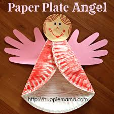 christmas kids craft paper plate angel christmas winter ideas christmas kids craft paper plate angel