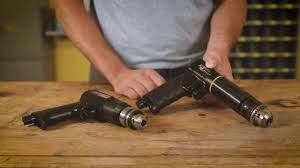 "Made in the USA <b>Pneumatic</b> 3/8"" <b>Reversible</b> Pistol Grip <b>Drill</b> ..."