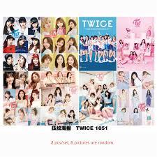<b>8 pcs</b>/<b>set</b> different <b>designs</b> A3 Posters KPOP girl group Twice TARA ...