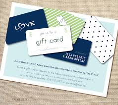 bridal shower invitation wording for gift cards invitation card wedding shower invitation gift card wording ideas