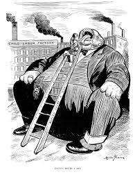 plutocracy vs democracy cartooning capitalism child labor laws