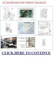 ge refrigerator wiring diagram refrigerator repair ge ge refrigerator wiring diagram ldquo