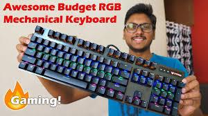 RGB <b>Mechanical</b> Gaming Keyboard on a Budget? <b>Rapoo V500 Pro</b> ...
