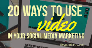 ways to use videos in your social media marketing out 20 ways to use videos in your social media marketing out being a professional videographer
