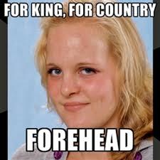 Quotes Funny Big Forehead. QuotesGram via Relatably.com