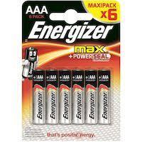 <b>Батарейки ENERGIZER</b> MAX <b>E92</b>/<b>AAA</b> E300131702 купить в ...