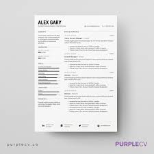 professional resume template resume templates design premium professional resume template