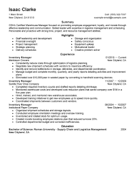 best inventory manager resume example livecareer create my resume