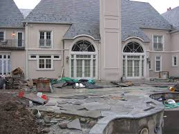 stone patio installation: outdoor patio stone designs natural stone patio designs