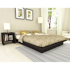 platform bed without headboard fabulous bed frame no headboard