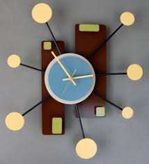 retro modern wall clock blank wall clock frei