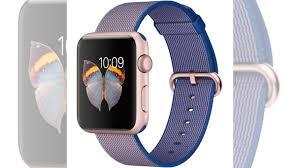 <b>Ремешок для</b> Apple watch 42mm Woven Nylon синий купить в ...