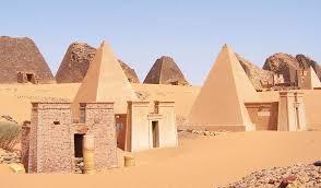 pyramid ancient history encyclopedia meroe pyramids reconstruction