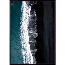 <b>Постер в рамке Дом</b> Корлеоне Пляж Вик 21x30 см: технические ...