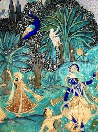 Krsna dancing - very <b>old Indian Art</b> | India art, Indian artwork, Indian ...
