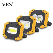<b>20W</b> COB <b>LED Portable</b> Spotlight <b>Rechargeable</b> Outdoor Working ...