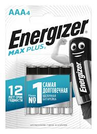 <b>Батарейка Energizer MAX Plus</b> E92/AAA 4 шт/бл Alkaline ...
